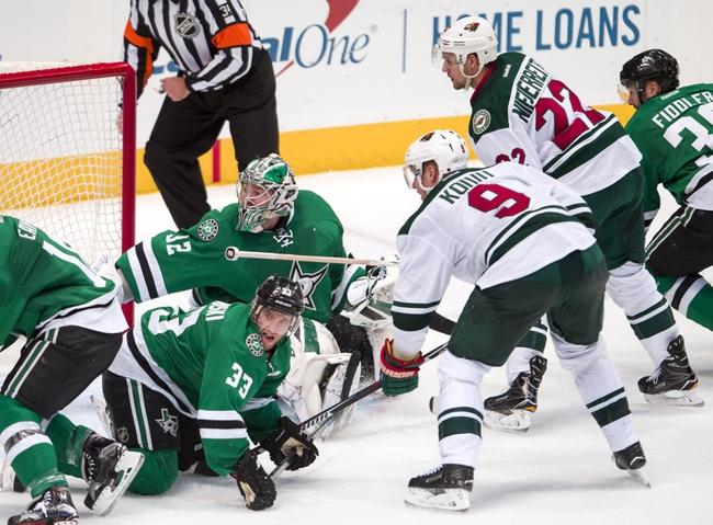 Minnesota Wild vs. Dallas Stars - 4/18/16 NHL Pick, Odds, and Prediction