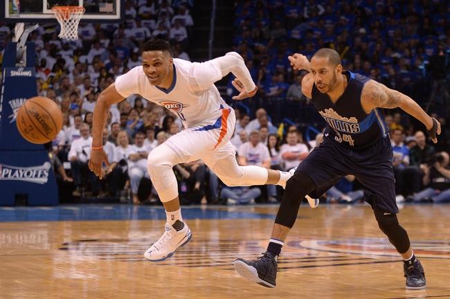 Oklahoma City Thunder vs. Dallas Mavericks - 4/18/16 NBA Pick, Odds, and Prediction