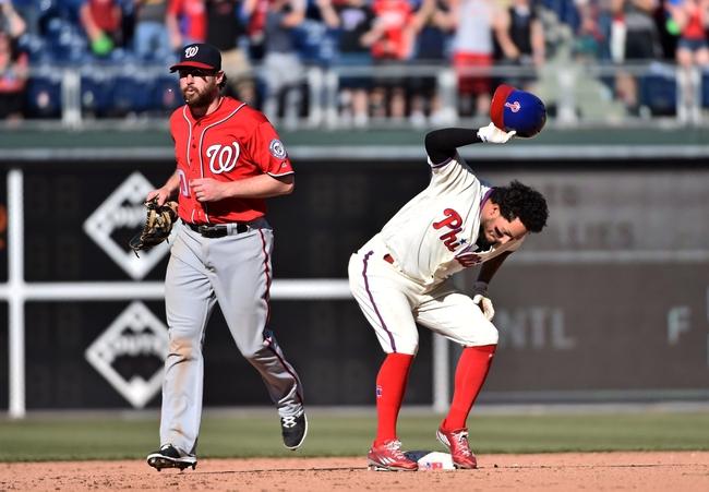 Washington Nationals vs. Philadelphia Phillies - 4/26/16 MLB Pick, Odds, and Prediction