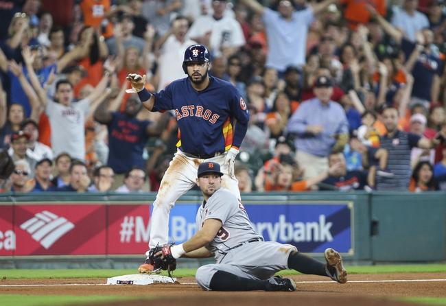 Detroit Tigers vs. Houston Astros - 7/29/16 MLB Pick, Odds, and Prediction