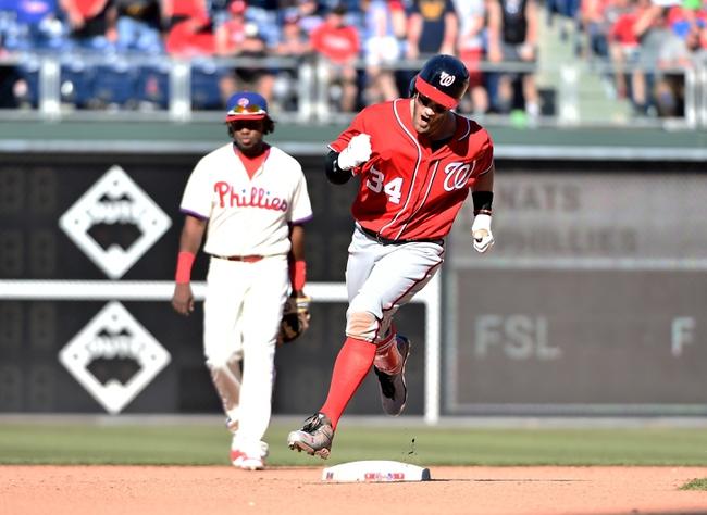 Phillies at Nationals - 4/26/16 MLB Pick, Odds, and Prediction