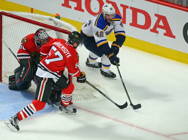 Blues at Blackhawks Game 4 - 4/19/16 NHL Pick, Odds, and Prediction