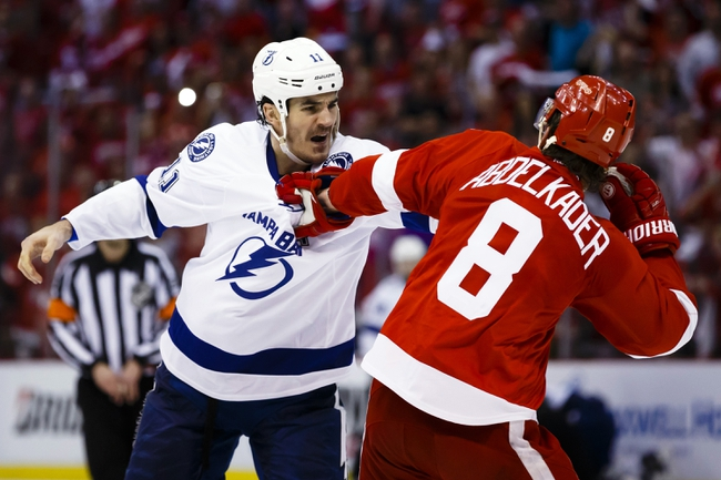 Detroit Red Wings vs. Tampa Bay Lightning - 4/19/16 NHL Pick, Odds, and Prediction