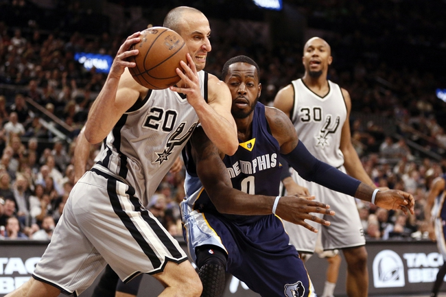 Grizzlies at Spurs Game 2 - 4/19/16 NBA Pick, Odds, and Prediction