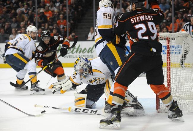 NHL News 4/18/16: Predators Edge Ducks, Take 2-0 Series Lead