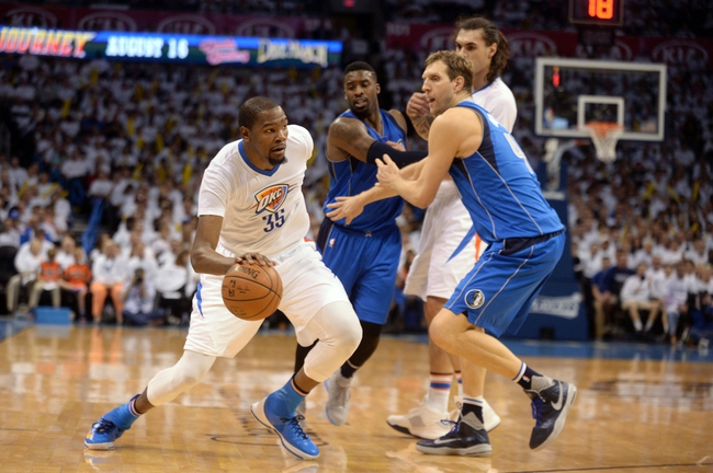 Thunder at Mavericks Game 3 - 4/21/16 NBA Pick, Odds, and Prediction