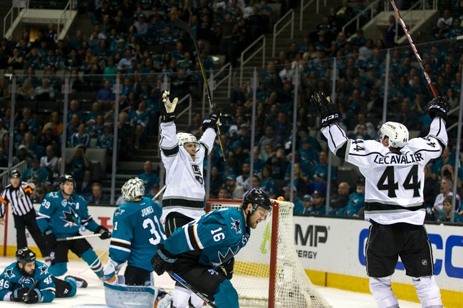 Kings at Sharks Game 4 - 4/20/16 NHL Pick, Odds, and Prediction