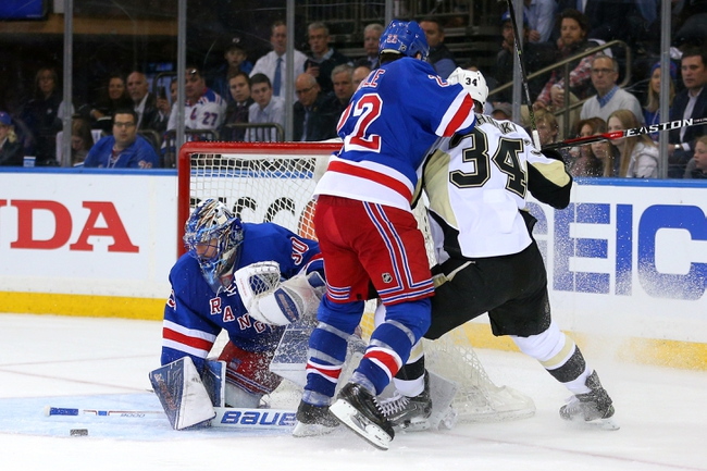 Penguins at Rangers Game 4 - 4/21/16 NHL Pick, Odds, and Prediction