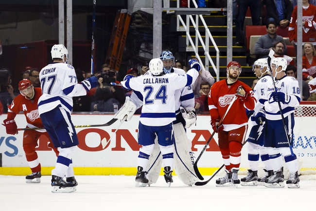 Red Wings at Lightning Game 5 - 4/21/16 NHL Pick, Odds, and Prediction