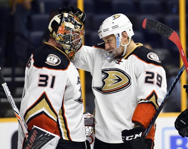 Nashville Predators vs. Anaheim Ducks - 4/21/16 NHL Pick, Odds, and Prediction