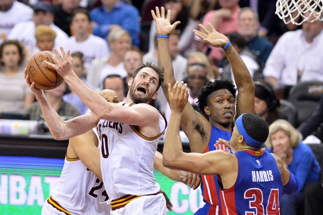Cavaliers at Pistons Game 3 - 4/22/16 NBA Pick, Odds, and Prediction
