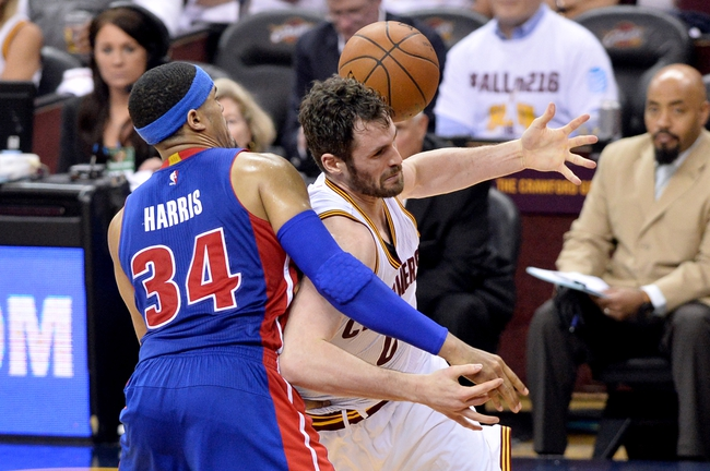 Detroit Pistons vs. Cleveland Cavaliers - 4/22/16 NBA Pick, Odds, and Prediction