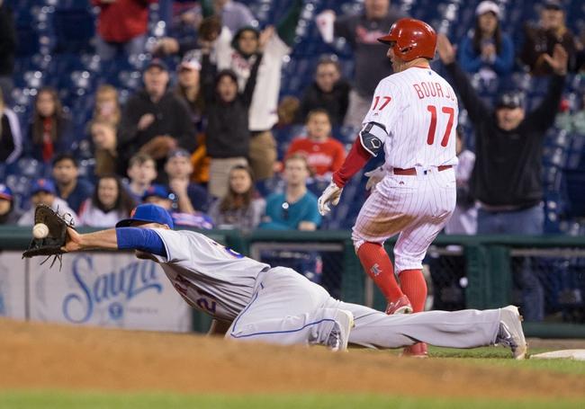 Philadelphia Phillies vs. New York Mets - 7/15/16 MLB Pick, Odds, and Prediction