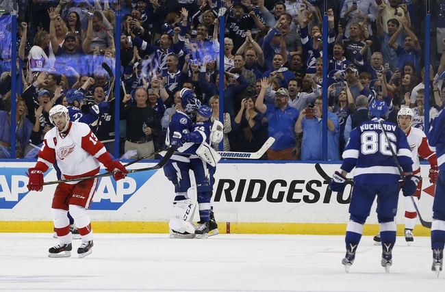 Tampa Bay Lightning vs. Detroit Red Wings - 10/13/16 NHL Pick, Odds, and Prediction