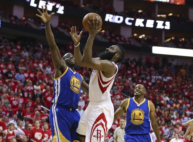 Houston Rockets vs. Golden State Warriors - 4/24/16 NBA Pick, Odds, and Prediction