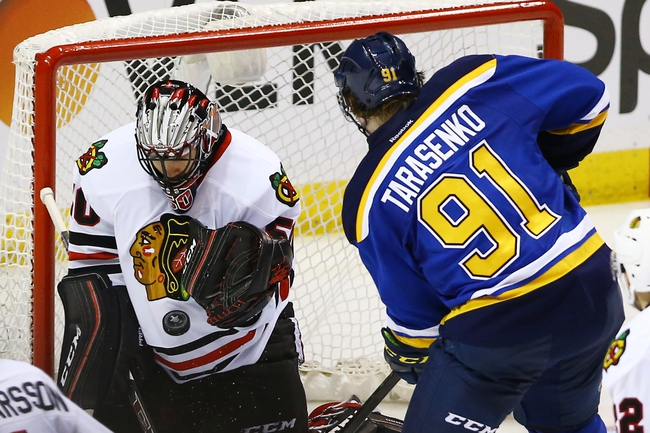 Chicago Blackhawks vs. St. Louis Blues - 4/23/16 NHL Pick, Odds, and Prediction