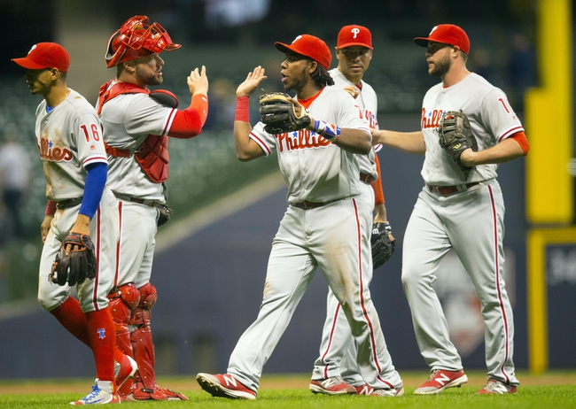 Brewers vs. Phillies - 4/24/16 MLB Pick, Odds, and Prediction