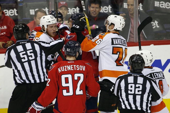 Capitals at Flyers Game 6 - 4/24/16 NHL Pick, Odds, and Prediction