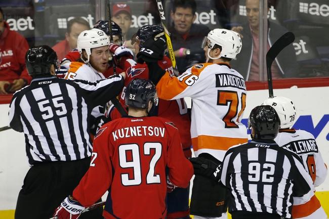 Philadelphia Flyers vs. Washington Capitals - 4/24/16 NHL Pick, Odds, and Prediction