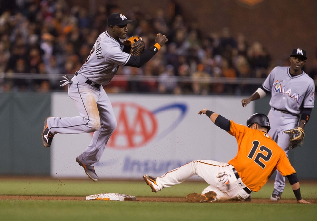 San Francisco Giants vs. Miami Marlins - 4/23/16 MLB Pick, Odds, and Prediction