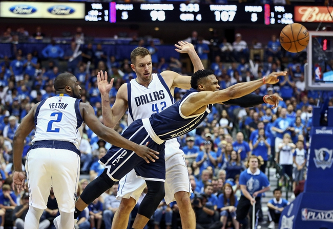 Mavericks at Thunder Game 5 - 4/25/16 NBA Pick, Odds, and Prediction
