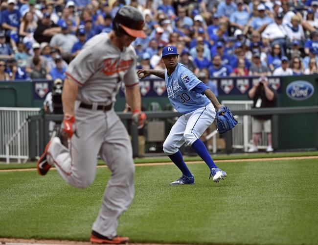 Baltimore Orioles vs. Kansas City Royals - 6/6/16 MLB Pick, Odds, and Prediction