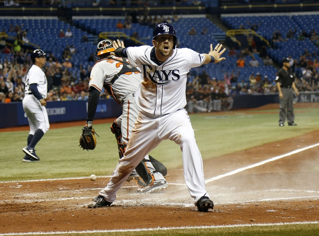 Tampa Bay Rays vs. Baltimore Orioles - 4/26/16 MLB Pick, Odds, and Prediction