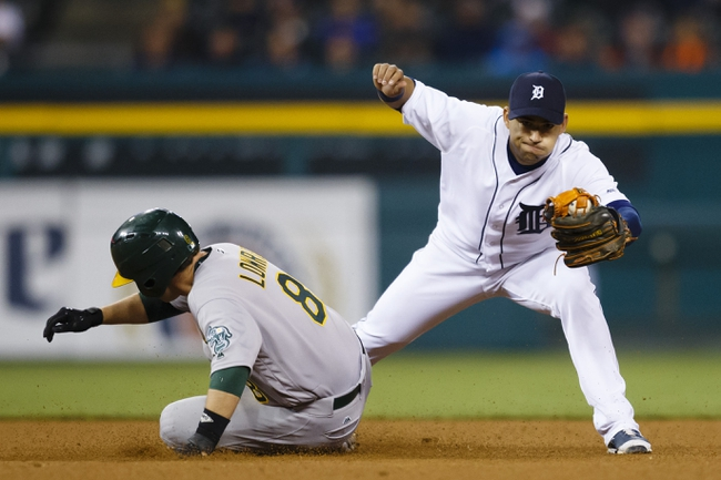 Detroit Tigers vs. Oakland Athletics - 4/26/16 MLB Pick, Odds, and Prediction