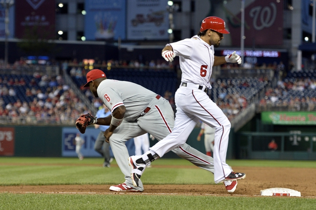 Washington Nationals vs. Philadelphia Phillies - 4/27/16 MLB Pick, Odds, and Prediction