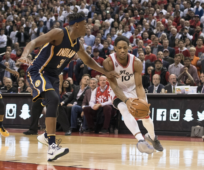 Indiana Pacers vs. Toronto Raptors - 4/29/16 NBA Pick, Odds, and Prediction