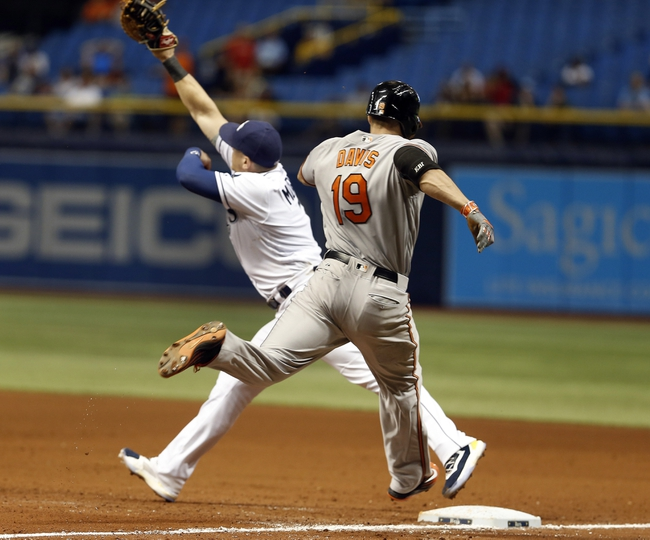 Baltimore Orioles vs. Tampa Bay Rays Game Two - 6/25/16 MLB Pick, Odds, and Prediction