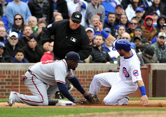 Atlanta Braves vs. Chicago Cubs - 6/11/16 MLB Pick, Odds, and Prediction