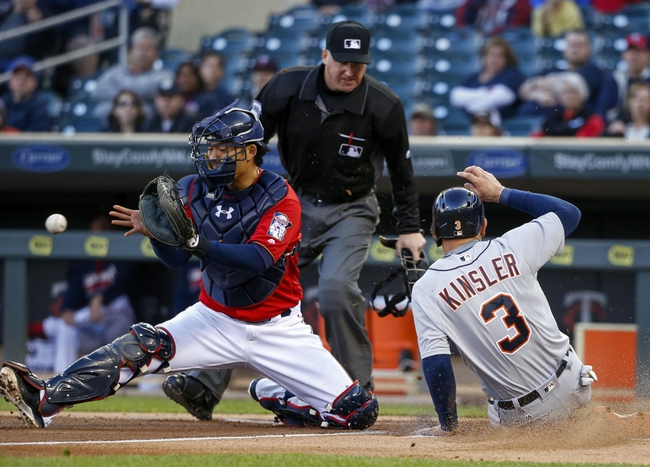 Minnesota Twins vs. Detroit Tigers - 5/1/16 MLB Pick, Odds, and Prediction