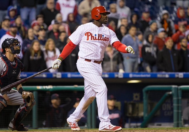 Philadelphia Phillies vs. Cleveland Indians - 4/30/16 MLB Pick, Odds, and Prediction