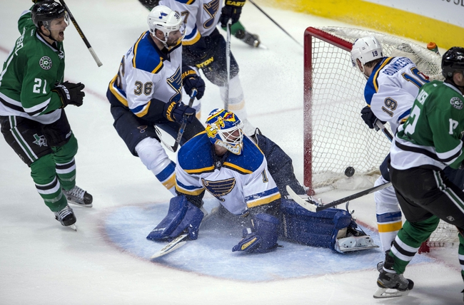 Blues at Stars Game 2 - 5/1/16 NHL Pick, Odds, and Prediction