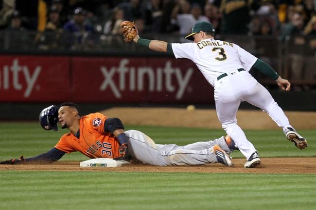 Oakland Athletics vs. Houston Astros - 5/1/16 MLB Pick, Odds, and Prediction