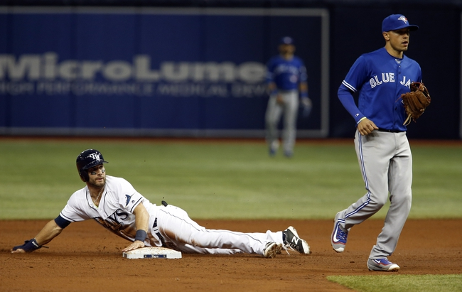 Tampa Bay Rays vs. Toronto Blue Jays - 5/1/16 MLB Pick, Odds, and Prediction