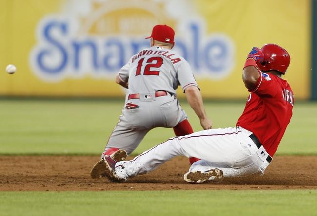 Rangers vs. Angels - 5/1/16 MLB Pick, Odds, and Prediction