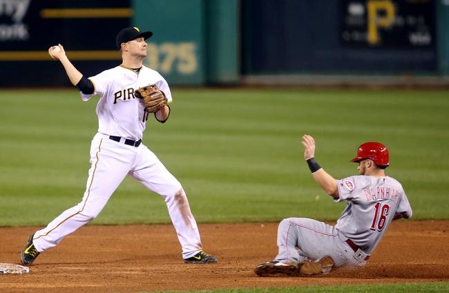 Cincinnati Reds vs. Pittsburgh Pirates - 5/9/16 MLB Pick, Odds, and Prediction