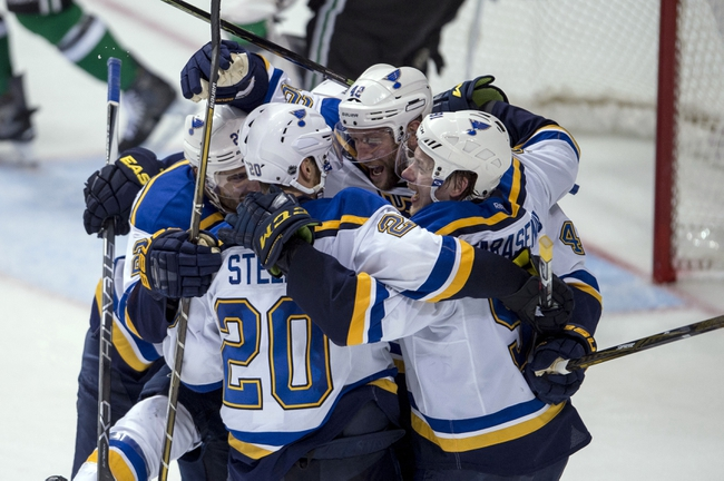 St. Louis Blues vs. Dallas Stars - 5/3/16 NHL Pick, Odds, and Prediction
