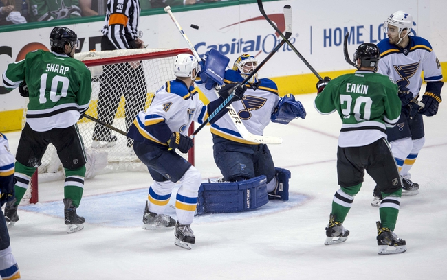 Stars at Blues Game 3 - 5/3/16 NHL Pick, Odds, and Prediction