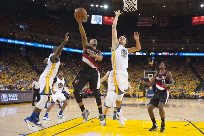 Trail Blazers at Warriors Game 2 - 5/3/16 NBA Pick, Odds, and Prediction