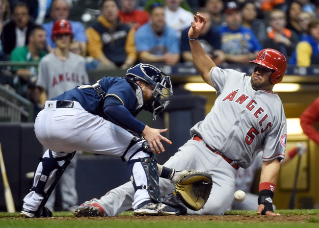 Milwaukee Brewers vs. Los Angeles Angels - 5/4/16 MLB Pick, Odds, and Prediction