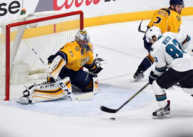 Sharks at Predators Game 4 - 5/5/16 NHL Pick, Odds, and Prediction
