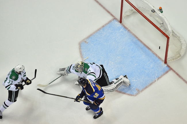 Stars at Blues Game 4 - 5/5/16 NHL Pick, Odds, and Prediction