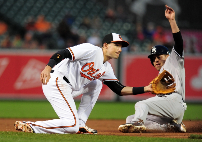 Baltimore Orioles vs. New York Yankees - 5/5/16 MLB Pick, Odds, and Prediction