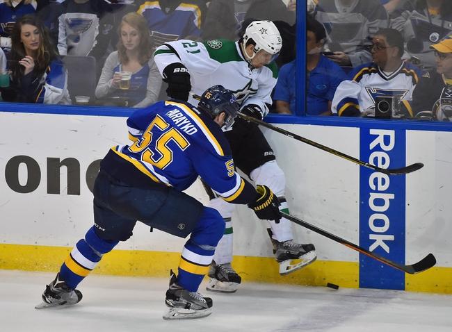 Dallas Stars vs. St. Louis Blues - 5/7/16 NHL Pick, Odds, and Prediction