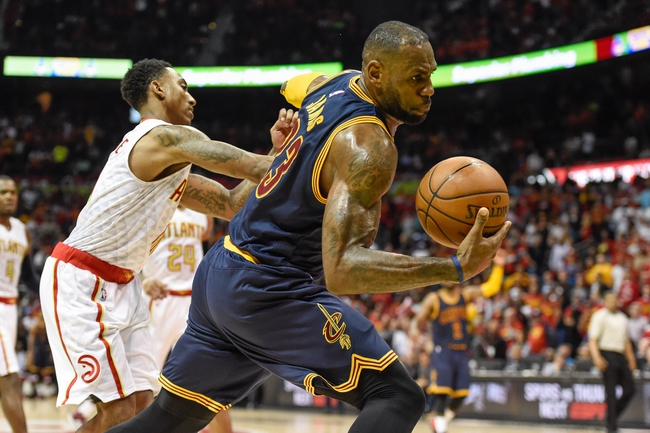 Cavaliers at Hawks Game 4 - 5/8/16 NBA Pick, Odds, and Prediction