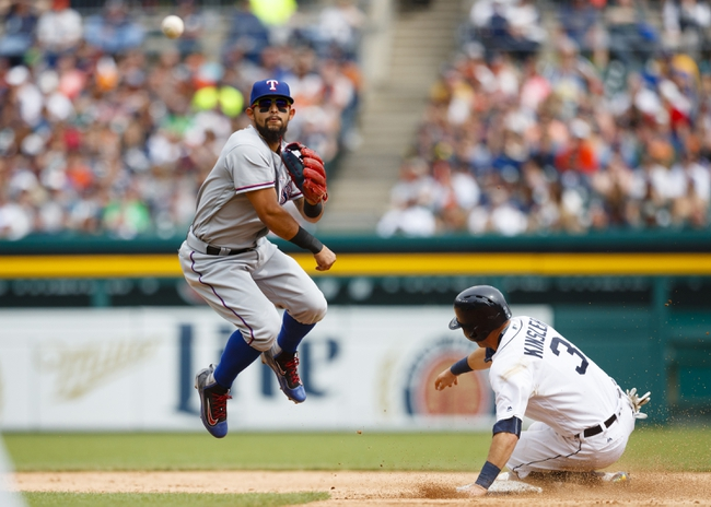 Detroit Tigers vs. Texas Rangers - 5/8/16 MLB Pick, Odds, and Prediction