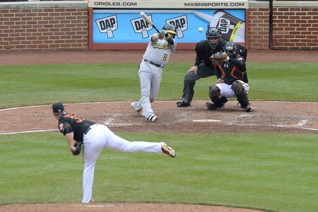 Orioles vs. Athletics - 5/8/16 MLB Pick, Odds, and Prediction